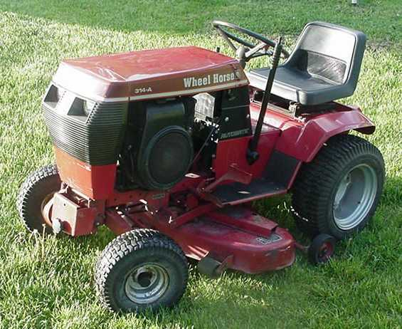 Wheel Horse Tractors : Wheel horse a tractor construction plant wiki