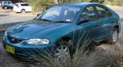 1996-1997 Ford Laser (KJ II (KL)) Liata 5-door hatchback 01