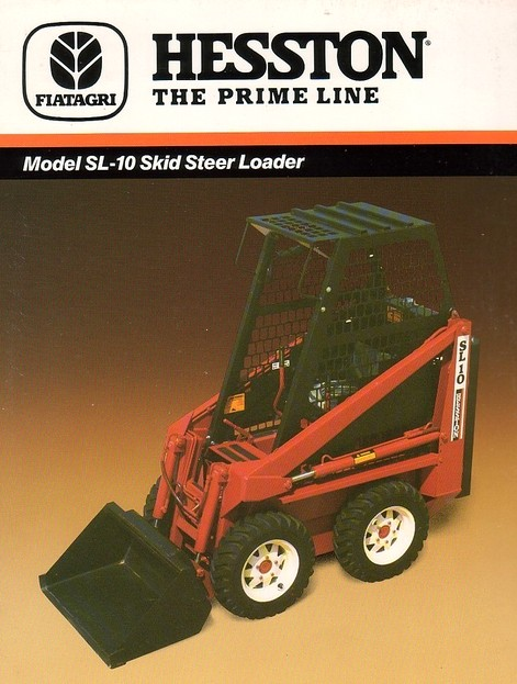 John Deere Skid Steer >> Hesston SL10 skid-steer | Tractor & Construction Plant Wiki | Fandom powered by Wikia