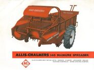AC 140 manure spreader brochure