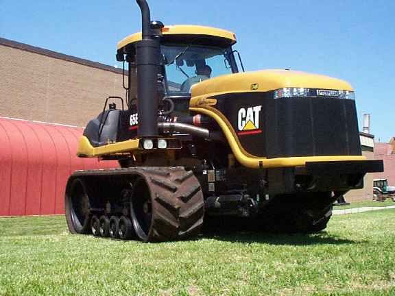Image cat challenger 65e 2001 jpg tractor amp construction plant