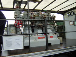Gardner boat engine