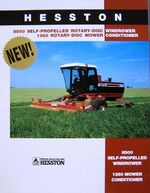 Hesston 8500 swather brochure - 1994