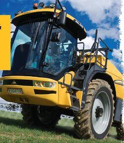 Challenger RoGator RG 645 - 2011