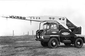 1963 TAYLOR JUMBO Ford Thames crane