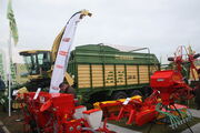 Krone AX 280 self loading forage wagon (trailed) at lamma 2010IMG 7596