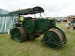 Aveling-Barford AE576 - DX8 roller - ECT 113 at Belvoir 08 - P5180453