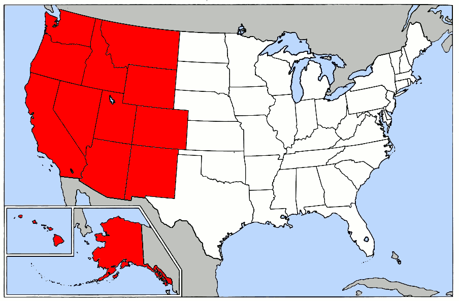 Maps Of The Western United States Wiring Get Free Images About - Map of the western us