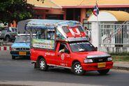 Songthaew in Ubon 05
