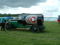 Advertising vehicle-Worthingtons- side - Belvoir - DSCF0238