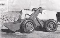 A 1957 BRAY BL25 4X4 Diesel Loader