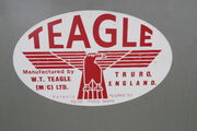 WT Teagle of Truro badge -IMG 6468