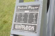 Dinkum Digger Instruction plate - IMG 5318