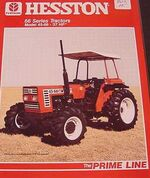 Hesston 45-66 DT MFWD - 1986