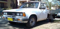 1979-1983 Datsun 720 2-door cab chassis 01