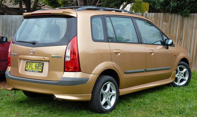 2001–2002 Mazda Premacy cp
