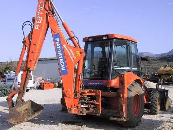 fiat hitachi fb110 backhoe tractor construction plant wiki fandom powered by wikia. Black Bedroom Furniture Sets. Home Design Ideas