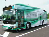 TOYOTA FCHV Bus