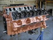 Oldsmobile 400cu-in big block engine