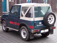 Suzuki SJ410 hl blue