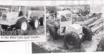 A 1980 BRAY T100 4WD Forestry Tractor