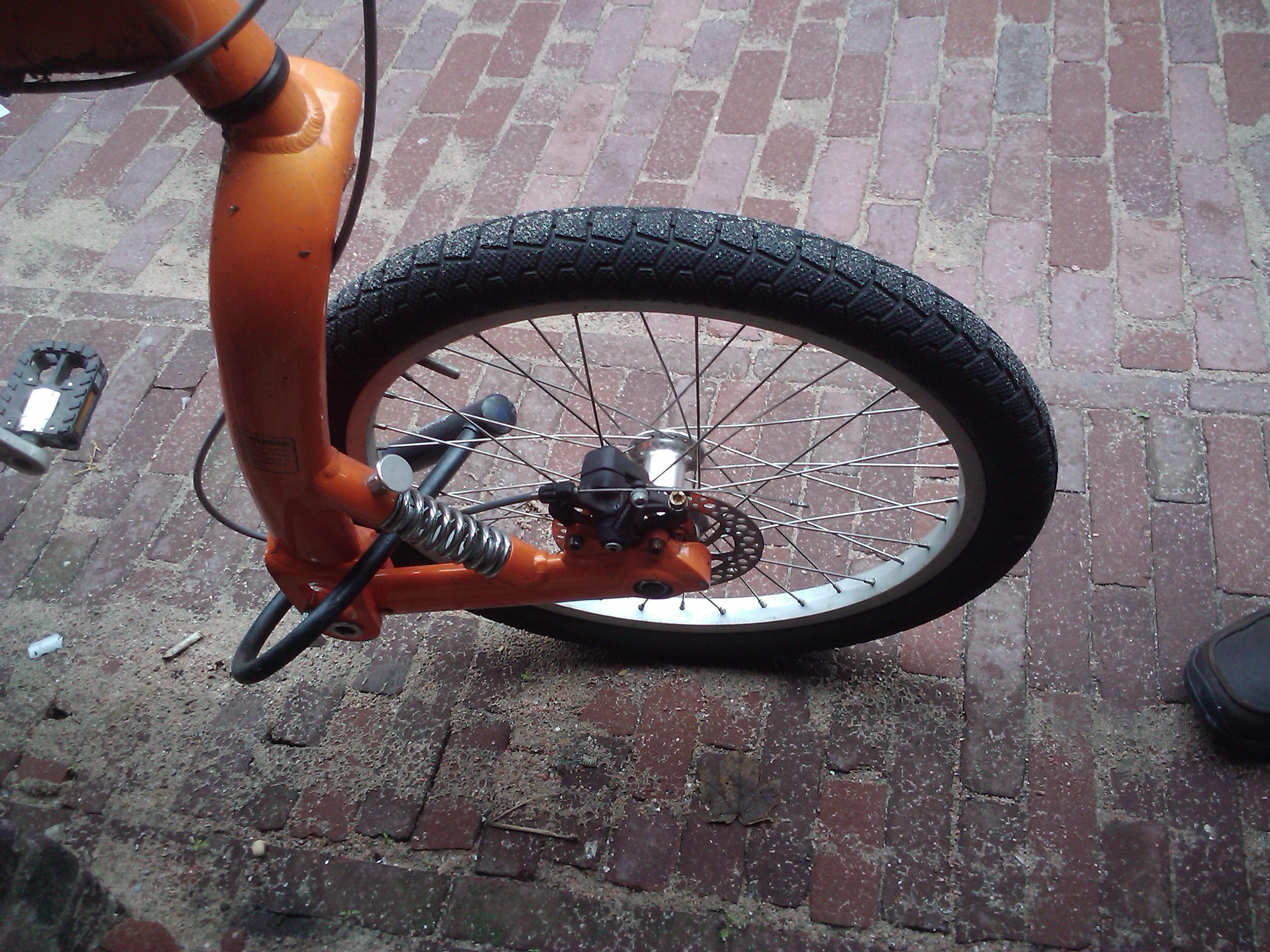 Велосипедная амортизационная вилка своими руками 58