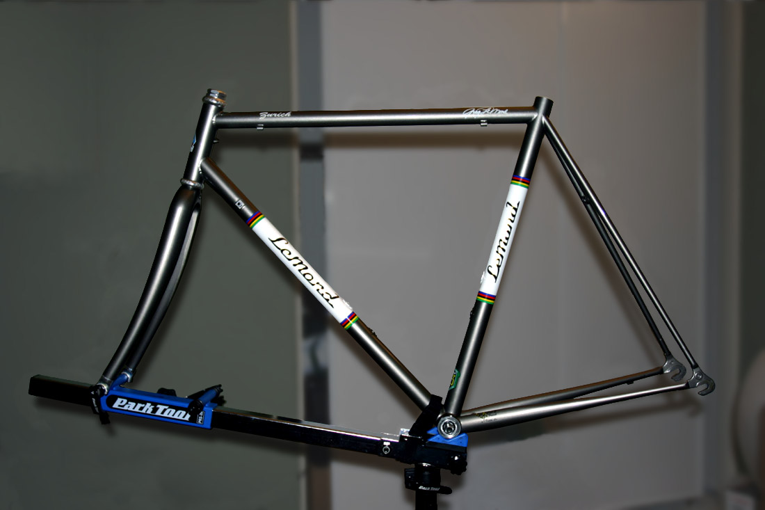 superb vivace track frame prototype bicycle