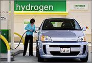 Hydrogen vehicle