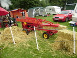 Model baler by R. Bowes - at Driffield 08 P8100489