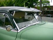Raked windshield 1952 DeSoto