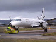 Aircraft towing, SE-LTU Saab 2000