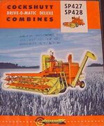 Cockshutt 427 & 428 combine ad