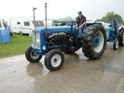 Tractor puller V8 Fordson Major-Driffield-P8100493