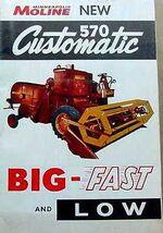 MM 570 Customatic combine