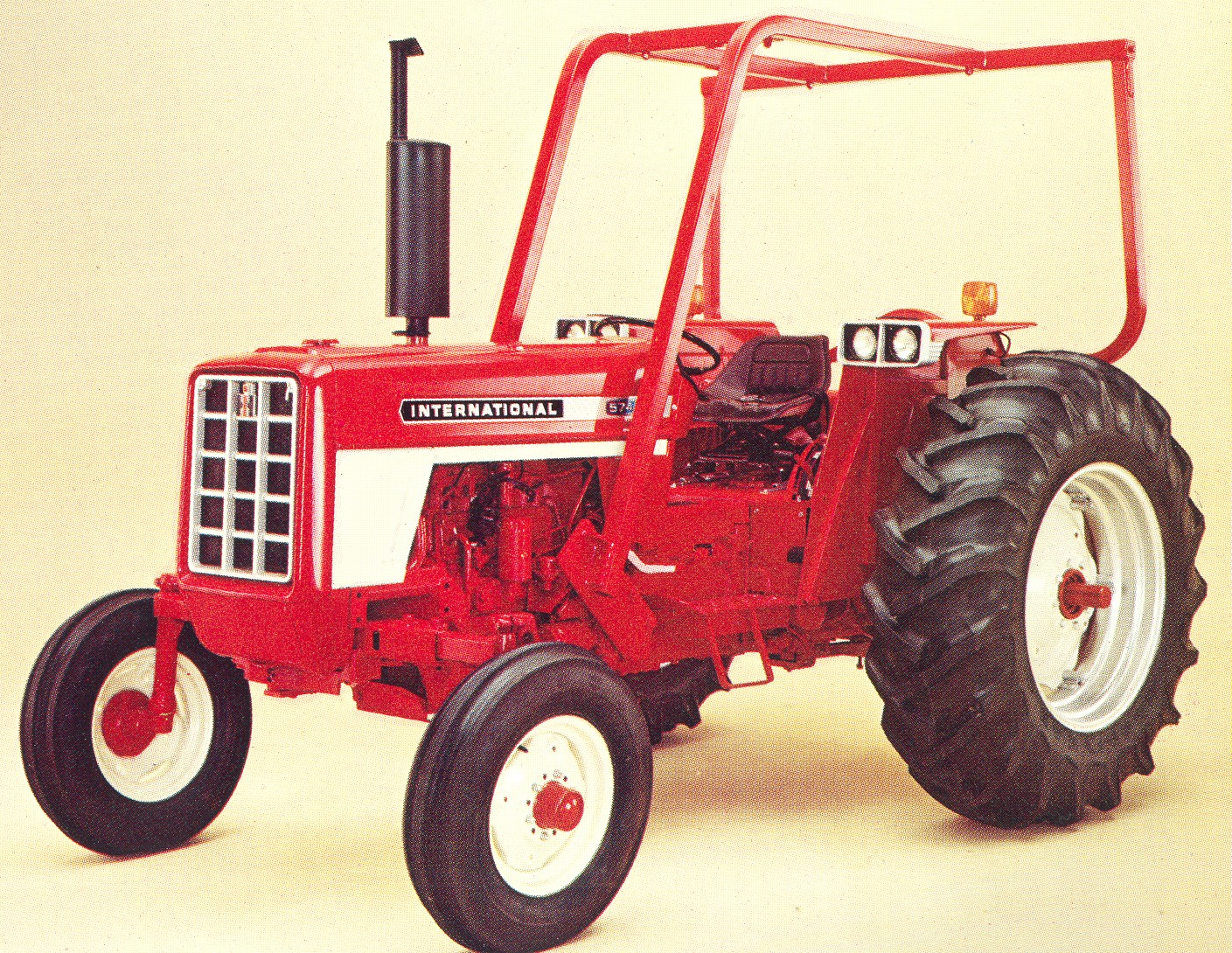 1970 574 International Tractors : Image international row crop gas g tractor