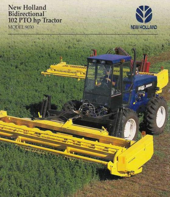 New Holland Versatile 9030 Bi Directional Tractor