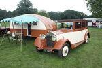 Rolls Royce car and Caravan - DY 7300 at Harewood 08 - IMG 0492