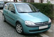 Opel Corsa front 20080111