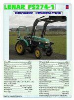 Lenar FS274 MFWD (green)-2002