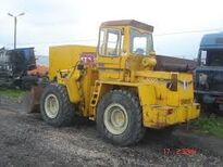 A late 1980s Bray PS5000C 4WD Diesel Loader
