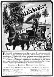 Studebaker advertisement, 1902