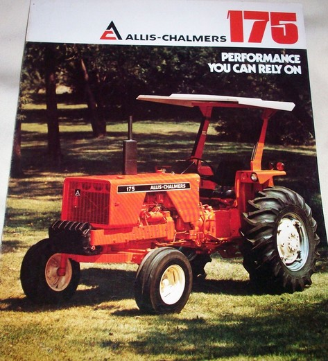 Allis Chalmers 175 : Allis chalmers tractor construction plant wiki