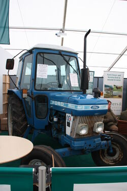Ford 4610 at LAMMA 2013 IMG 6106
