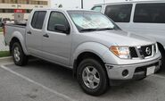 2nd Nissan Frontier crew cab