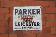 """Parker """"Little Giant"""" mixer sign - IMG 8519"""
