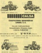 A 1980 CALSA Loader Model Range