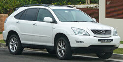 2007-2008 Lexus RX 350 (GSU35R) Sports Luxury wagon 02