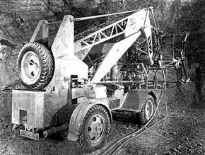 1953 Taylor-Jumbo Mining Crane
