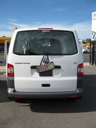 Volkswagen Transporter 2010MY (rear view)