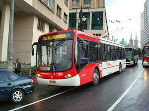 Trolleybus Low Floor 4 1500 - Sao Paulo, Brazil